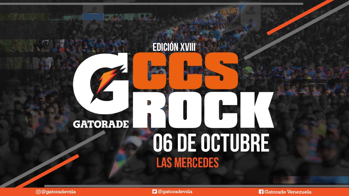 Gatorade Caracas Rock