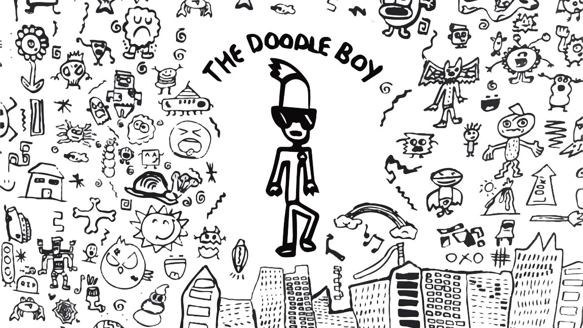 The doodle boy, los garabatos de un niño que se hicieron virales (Fotos + Videos)