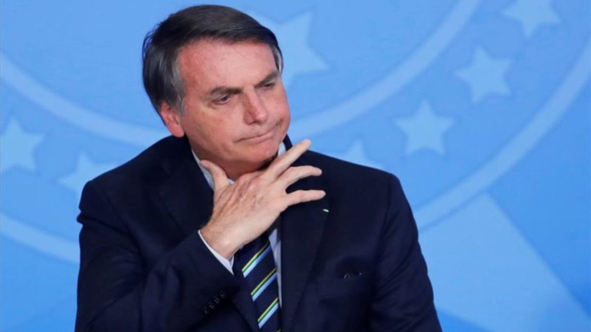 "Bolsonaro ve ""normal"" que Donald Trump vete ingreso de brasileros"
