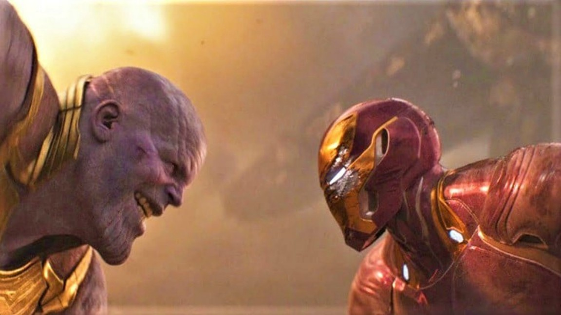 Marvel Thanos y Iron Man