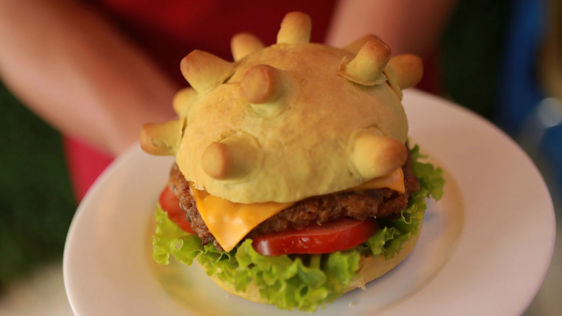 hamburguesas coronavirus