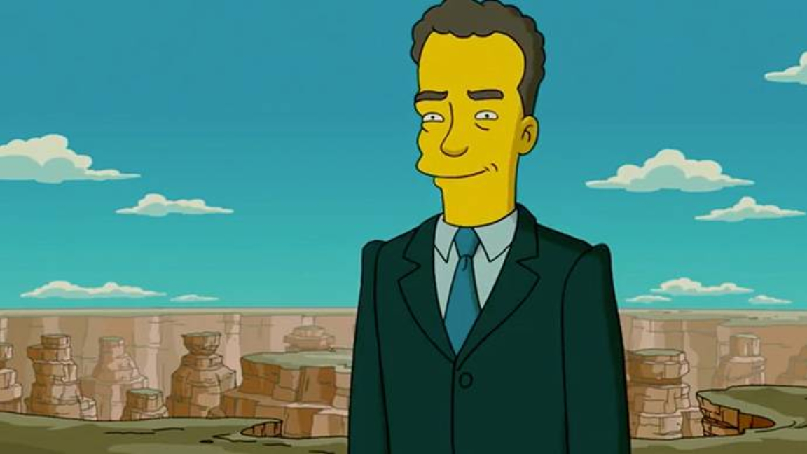 coronavirus los simpsons tom hanks