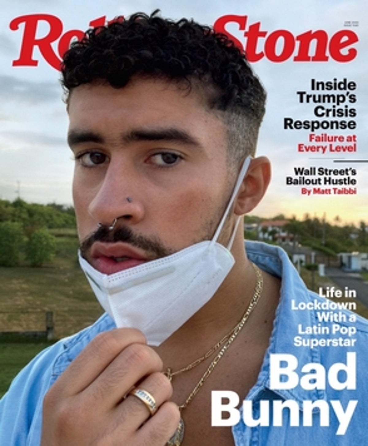 bad bunny rolling stone
